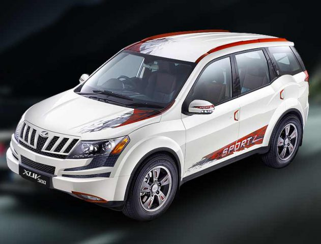 Mahindra launches XUV500 Sportz for 13.68 lakh @TheRoyaleIndia