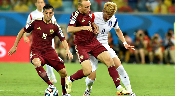 Russia Vs Korea Republic @TheRoyaleIndia