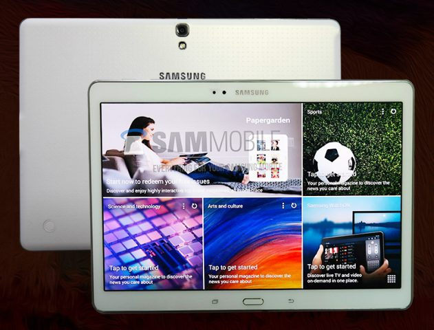 Leaked Samsung Galaxy Tab S 10.5 @TheRoyaleIndia