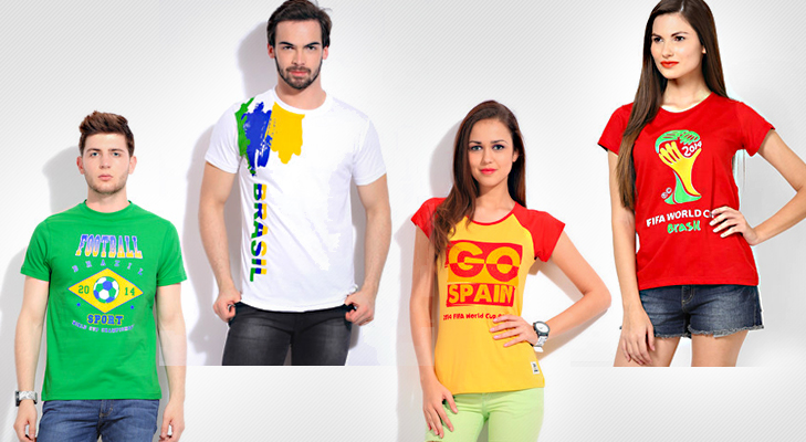 Football Merchandise T-Shirts and Tops @TheRoyaleIndia