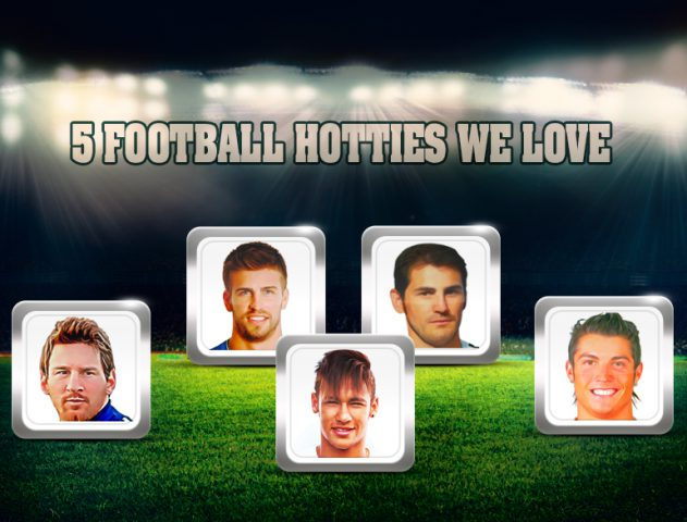 Five of the hottest footballers that we love @TheRoyaleIndia