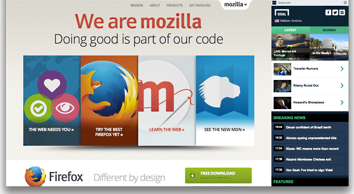 mozilla website @TheRoyaleIndia