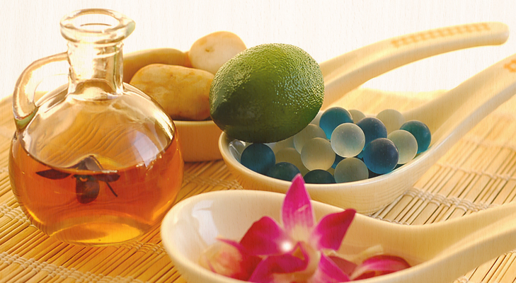Exfoliate with Essential Oils @TheRoyaleIndia