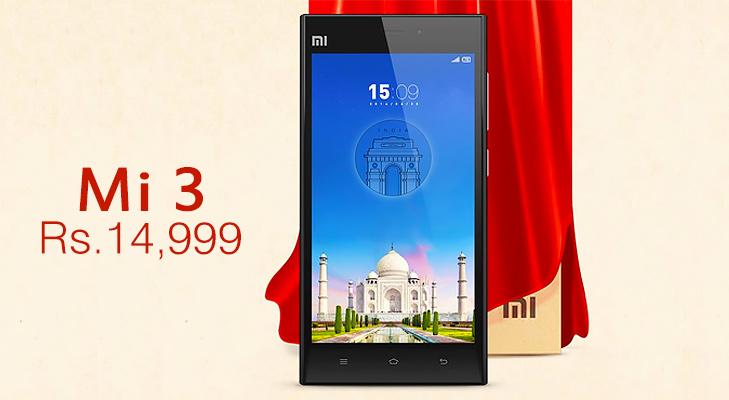 Xiaomi Mi3 Launching in India @TheRoyaleIndia