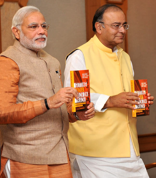 Narendra Modi and Arun Jaitley @TheRoyaleIndia