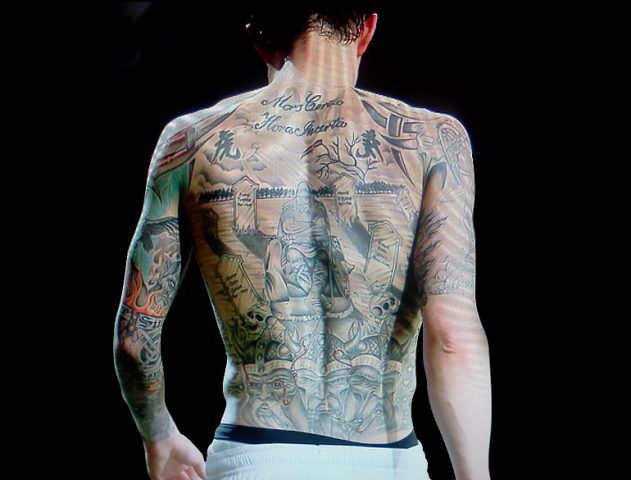5 most tattooed footballers and what their tattoos mean! @TheRoyaleIndia