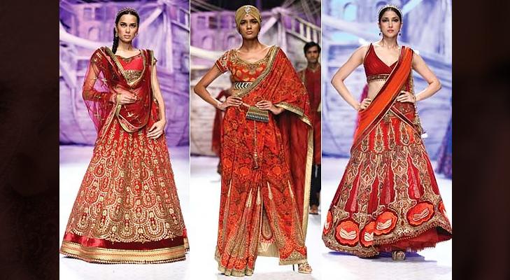 bridal dresses @TheRoyaleIndia