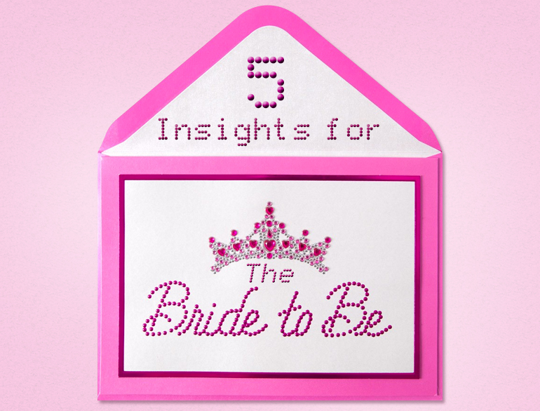 5 insights for The Bride-To-Be @TheRoyaleIndia