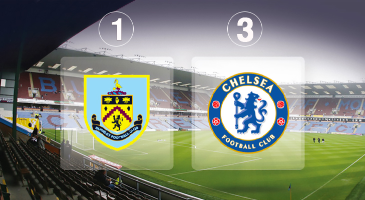 Burnley 1 Chelsea 3 @TheRoyaleIndia