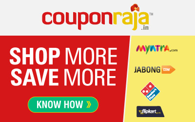 Discount coupons on myntra
