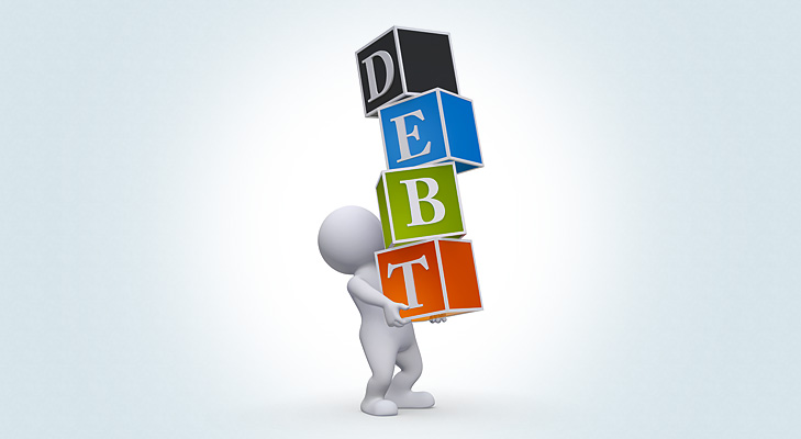 debt repayment @TheRoyaleIndia