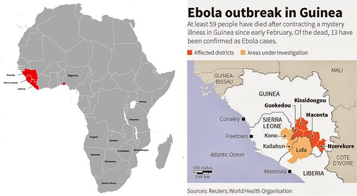 ebola map large @TheRoyaleIndia