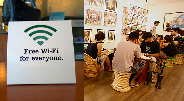free internet and wifi @TheRoyaleIndia