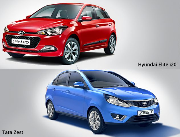 Hyundai Elite i20 and Tata Zest launch