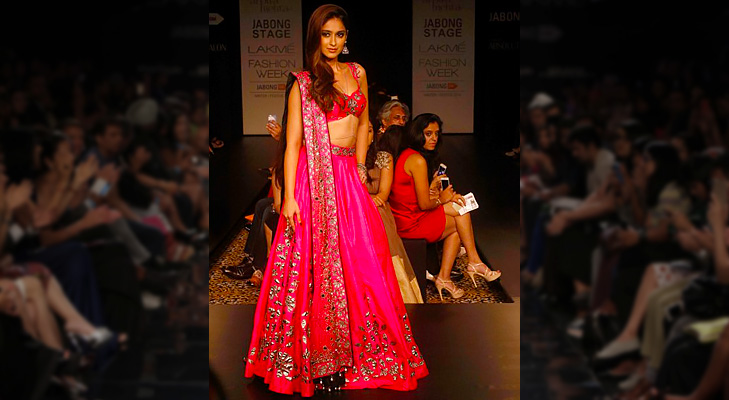 illeana dcruz arpita mehta lakme fashion 2014 @TheRoyaleIndia