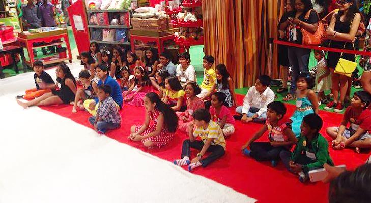 kids show lfw @TheRoyaleIndia