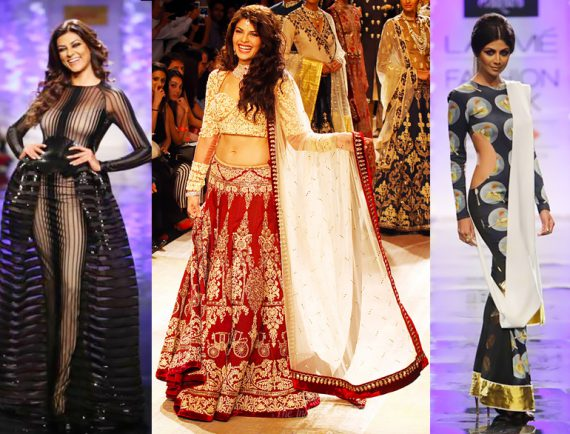 LFW WinterFestive 2014 - Bolly Divas spark up the event @TheRoyaleIndia