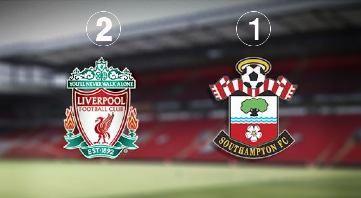 Liverpool 2 Southampton 1 @TheRoyaleIndia