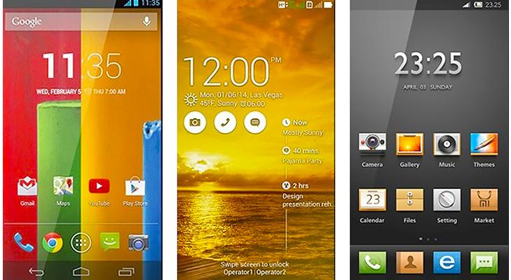 mobile display @TheRoyaleIndia