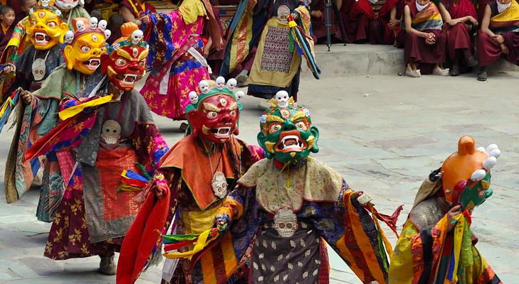 monastic festival @TheRoyaleIndia