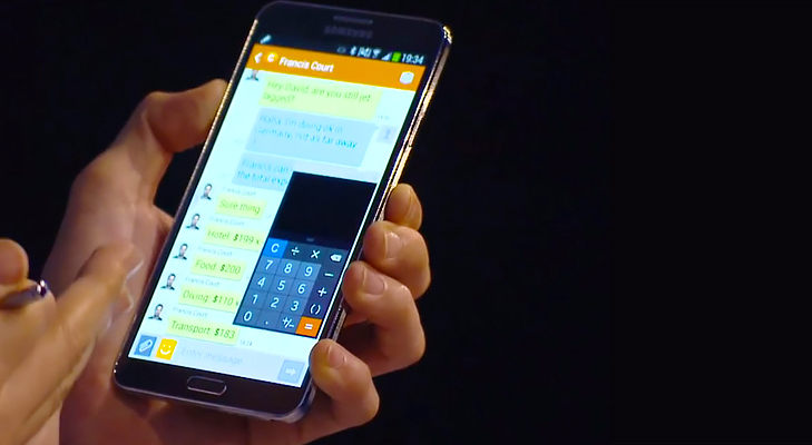 Samsung note 3 Multi Window @TheRoyaleIndia