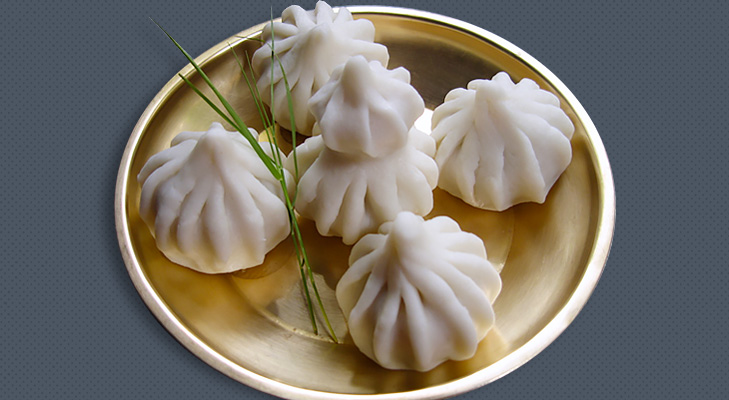 traditional ukadiche modak @TheRoyaleIndia