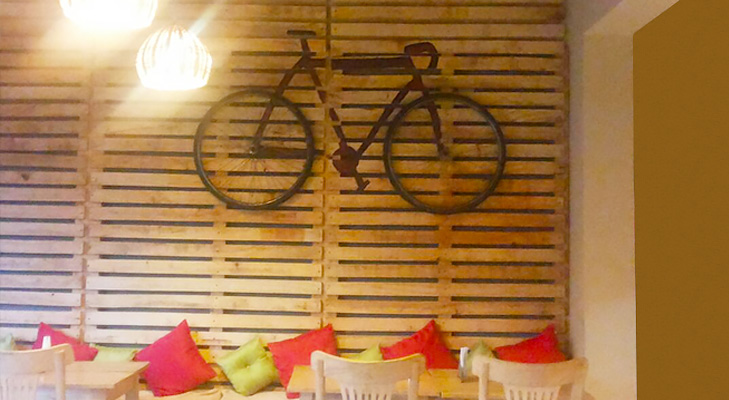 up cycle cafe bangalore @TheRoyaleIndia