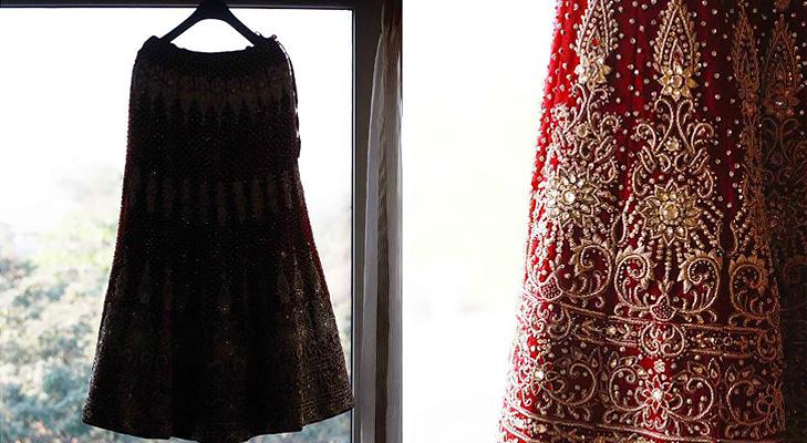 wedding dress @TheRoyaleIndia