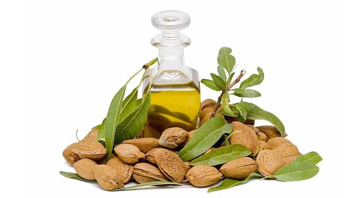 Almond oil for dark circle remedy @TheRoyaleIndia