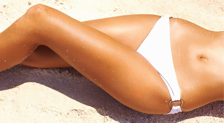 brazilian waxing white bikini beach clean @TheRoyaleIndia