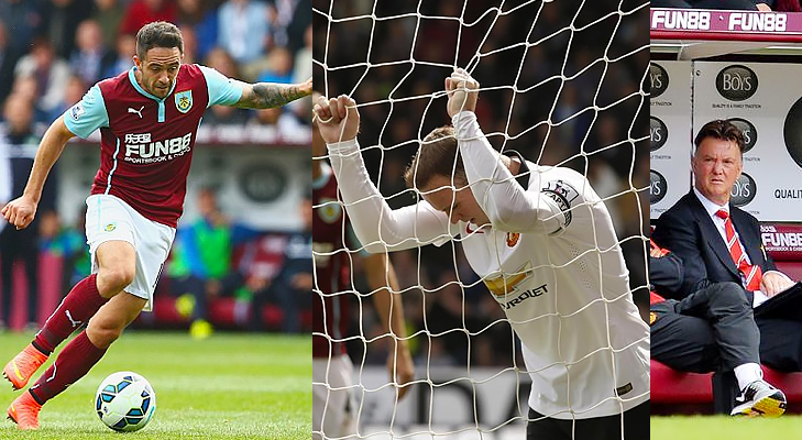 burnley vs man utd epl 2014 @TheRoyaleIndia