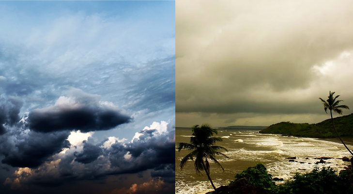 capturing clouds in monsoon @TheRoyaleIndia