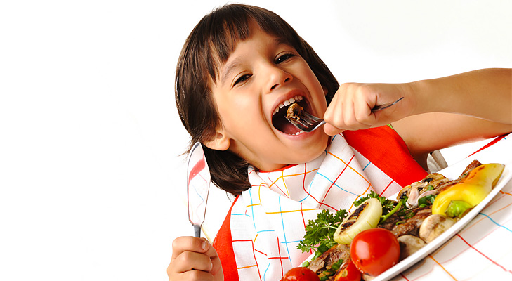 child eat healthy concentration @TheRoyaleIndia