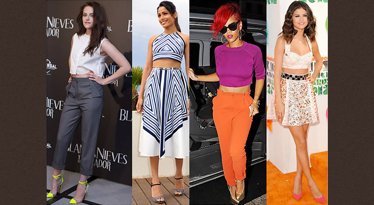crop top trends @TheRoyaleIndia
