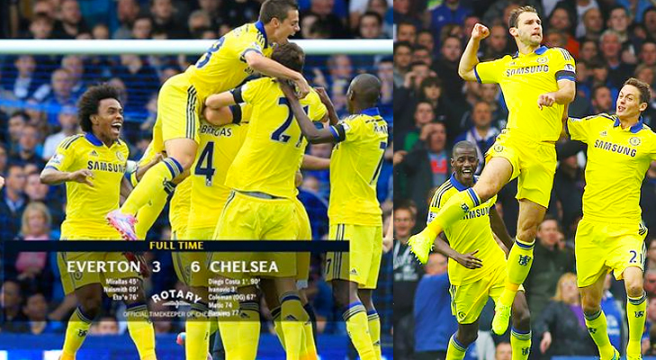 everton vs chelsea epl 2014 @TheRoyaleIndia