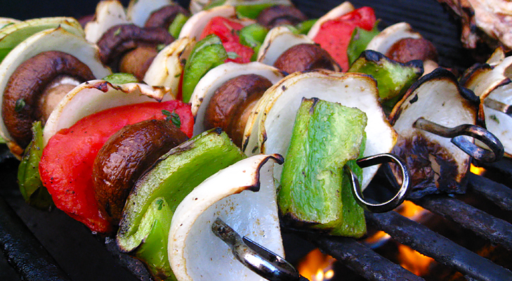 grilled vegetables with cottage cheese @TheRoyaleIndia