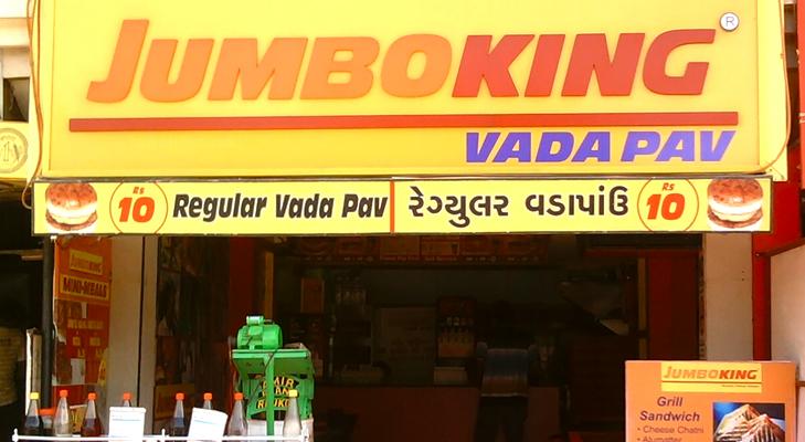 jumbo king vada pav @TheRoyaleIndia