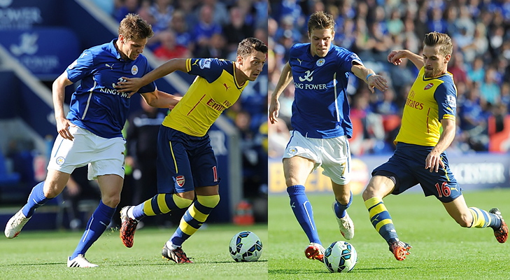 leicester city vs arsenal epl 2014 @TheRoyaleIndia