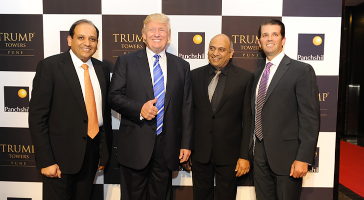 lodha group trump @TheRoyaleIndia