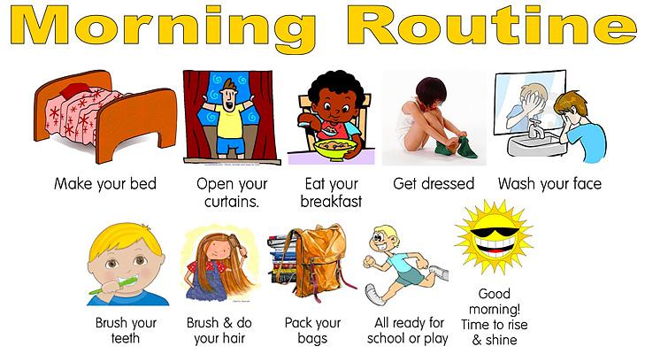 morning routine @TheRoyaleIndia