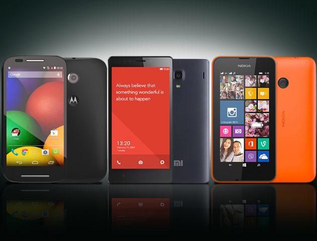 Moto E Vs Xiaomi Redmi 1S Vs Lumia 530 @TheRoyaleIndia