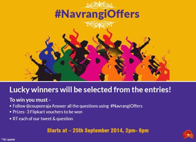 #NavrangiOffers @TheRoyaleIndia