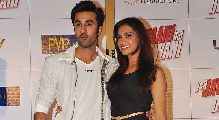 ranbir and deepika @TheRoyaleIndia