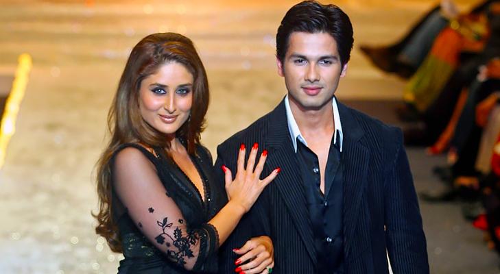 shahid kapoor and kareena kapoor @TheRoyaleIndia
