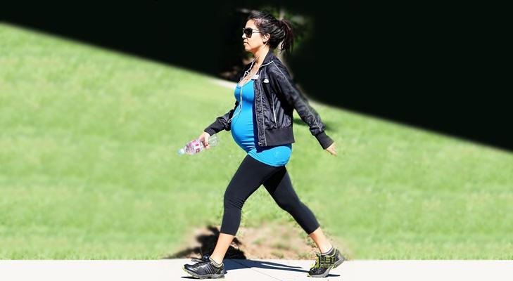 walking pregnant exercise @TheRoyaleIndia