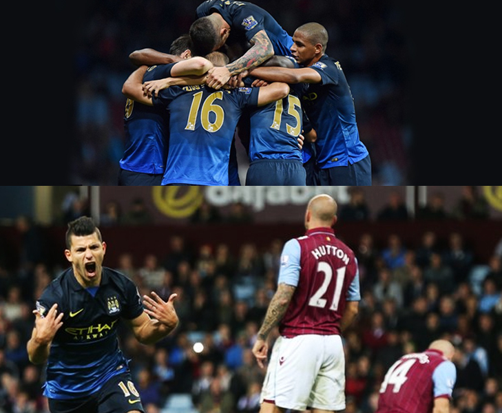 aguero goal aston villa vs man city 2014 @TheRoyaleIndia