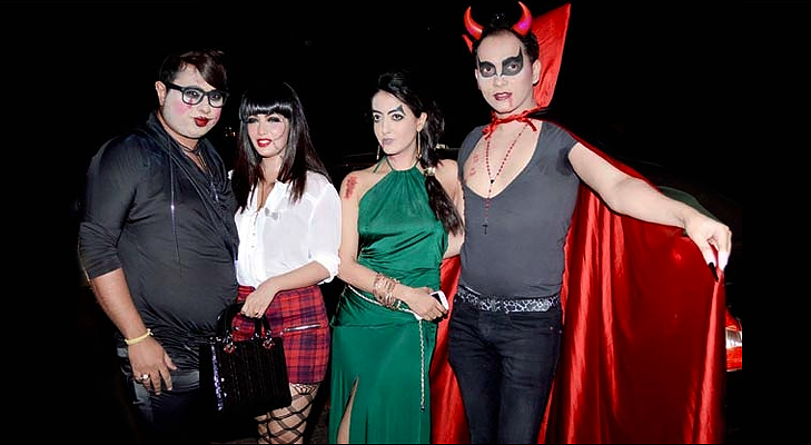 bollywood celebs halloween @TheRoyaleIndia