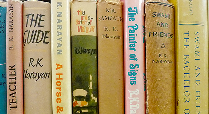 books by rk narayan @TheRoyaleIndia