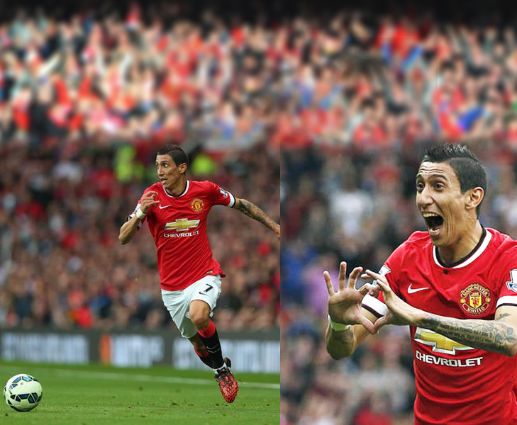 di maria goal vs everton @TheRoyaleIndia