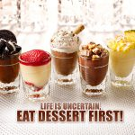 Indulge in desserts and sweets made from Chocolate